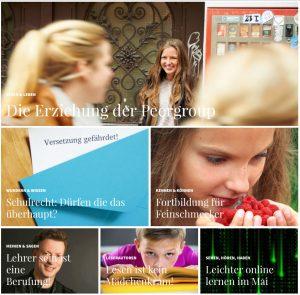Startseite Magazin SCHULE ONLINE