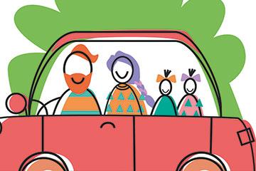 Familienauto / SCHULE Online