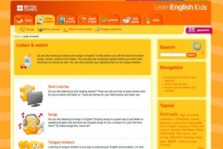 online lernen /learn-english-kids / SCHULE Online