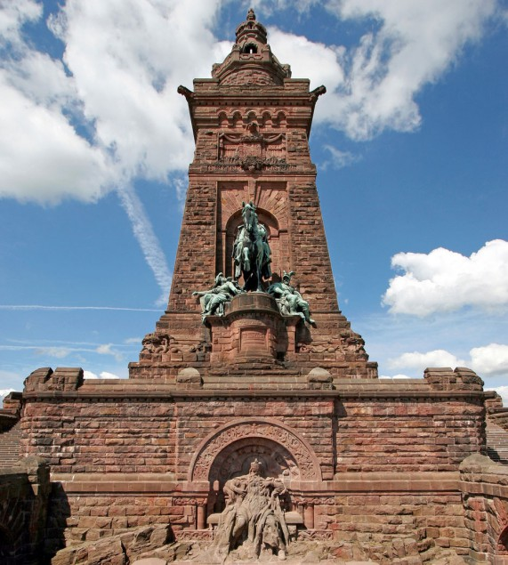 Familienreise Thüringen / Kyffhäuser-Denkmal