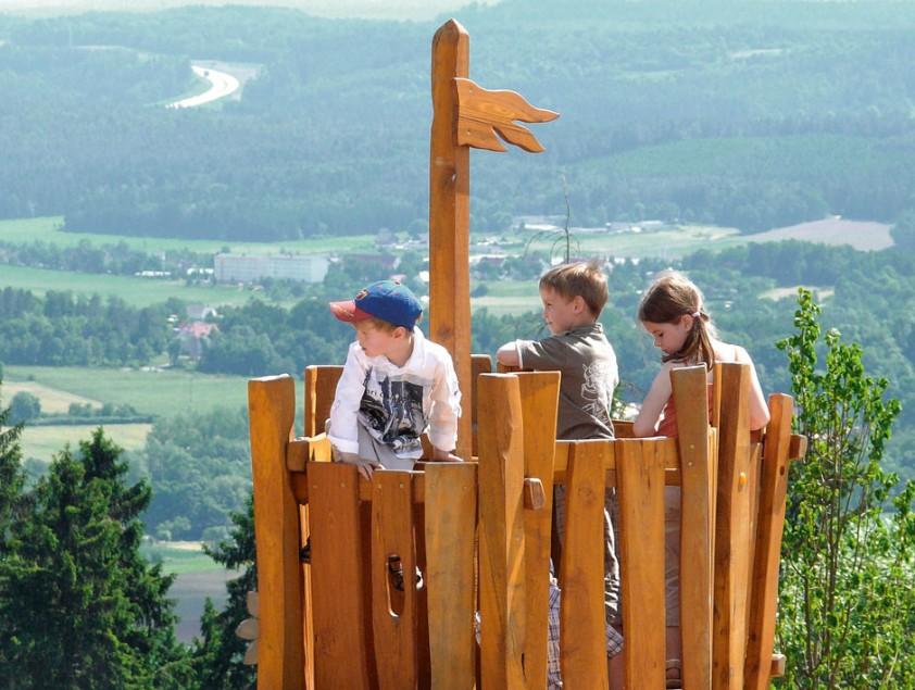 Familienreise Thüringen / Feriendorf Auenland, Spielplatz