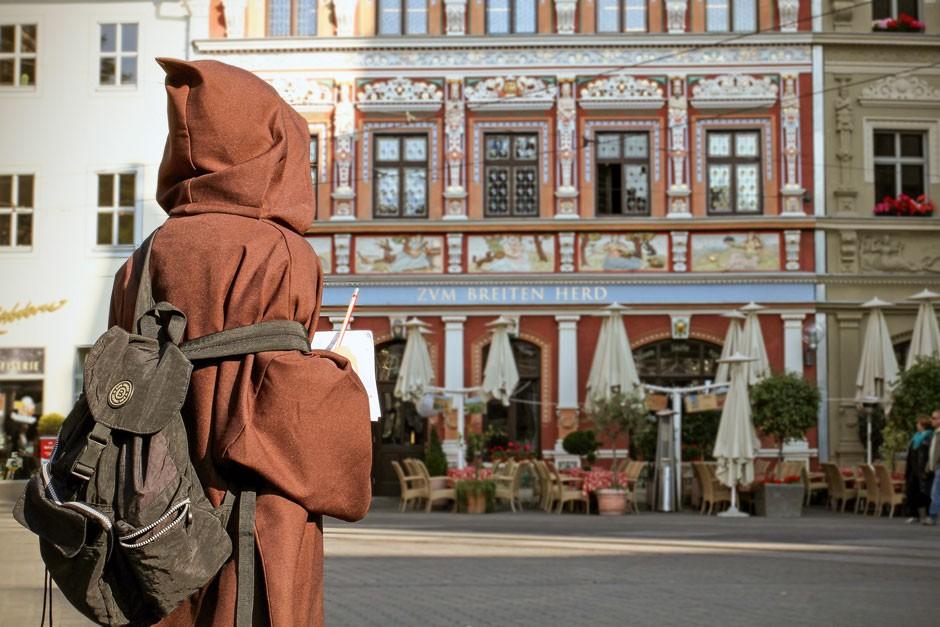 Familienreise Thüringen / Kinderstadtführung Erfurt