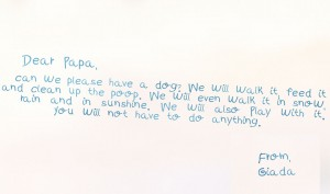Kind möchte einen Hund haben / Magazin SCHULE