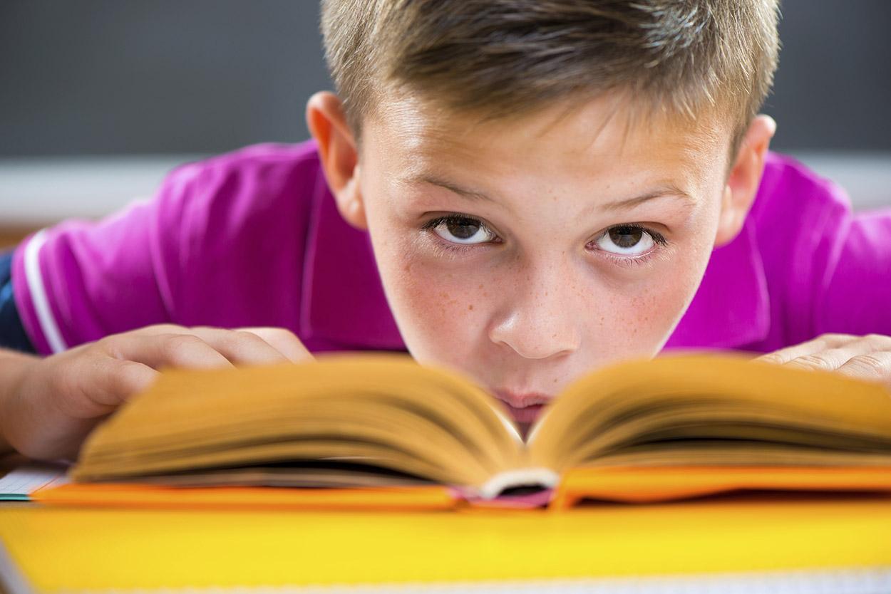 Junge liest – Magazin SCHULE online