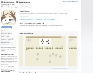 """App """"Fingerzahlen"""" – Magazin SCHULE"""