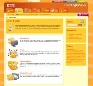 LearnEnglish Kids – Magazin SCHULE
