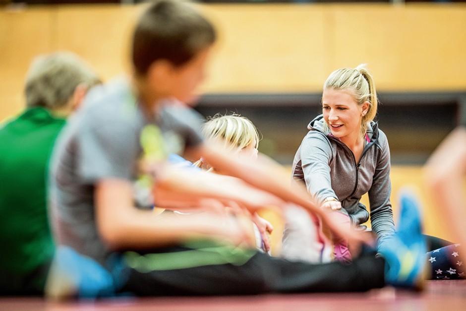 Leichtathletik – Jugendliche Übungsleiter – Magazin SCHULE ONLINE