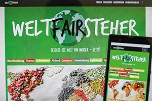 weltFAIRsteher Website