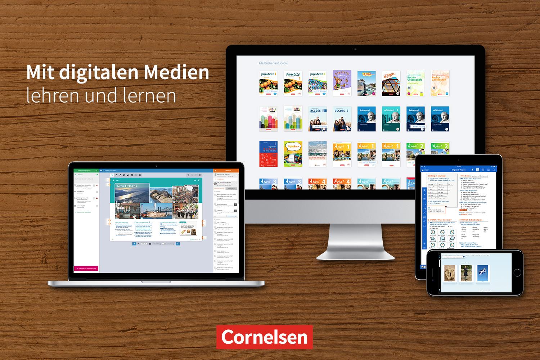 Cornelsen: digitale Medien für die Schule