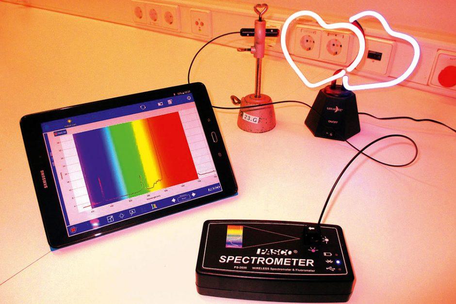 Digitales Lernen – Tablet als Spektrometer – Magazin SCHULE ONLINE