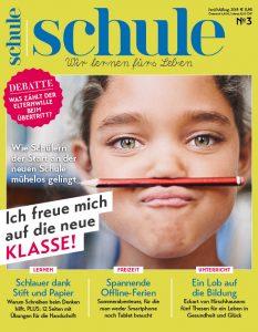 Cover Magazin SCHULE 3/2018