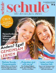 Magazin SCHULE 4/2018 – Cover