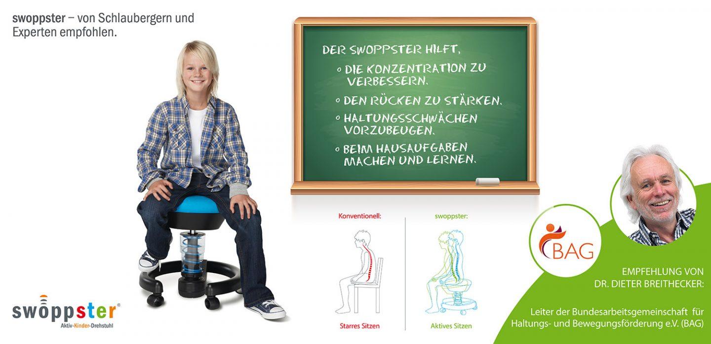 Schulstart-Aktion aeris swoppster – Magazin SCHULE ONLINE