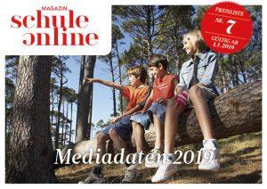 Cover Mediadaten 2019 – Magazin SCHULE ONLINE