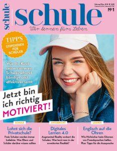 Cover Magazin SCHULE 1/2019