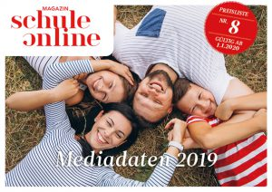 Cover Mediadaten Magazin SCHULE ONLINE 2020