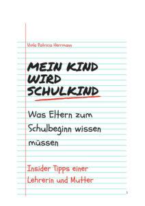 """Cover """"Mein Kind wird Schulkind"""" von Viola Herrmann – Magazin SCHULE"""