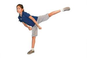 Kung Fu-Kämpfer - Übung für die Lernpause
