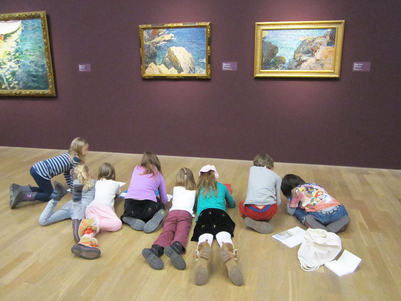 Wie Bildung gelingt – Besuch des Kinderkunsthauses München in der Kunsthalle
